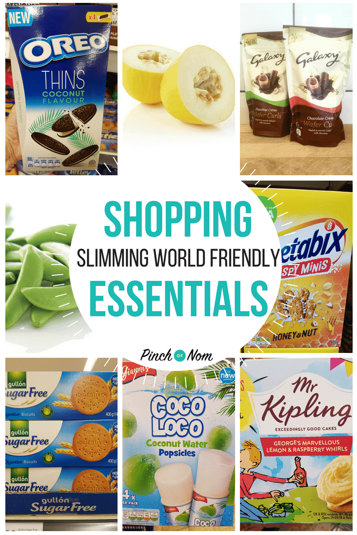 Pinch of Nom - Slimming World Shopping Essentials first image 6.7.18