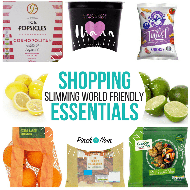 New Slimming World Shopping Essentials 27.7.18