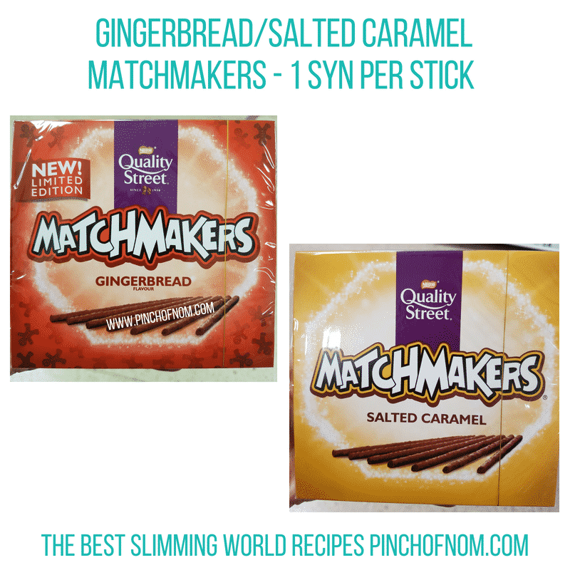 Matchmakers - Pinch of Nom Slimming World Shopping Essentials