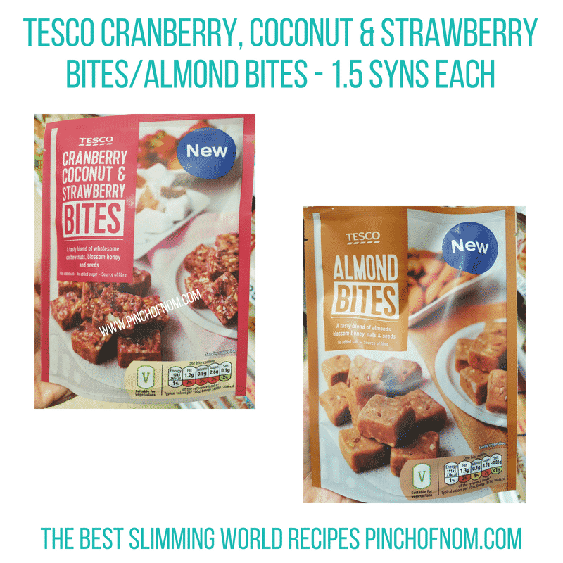 Tesco Bites - Pinch of Nom Slimming World Shopping Essentials
