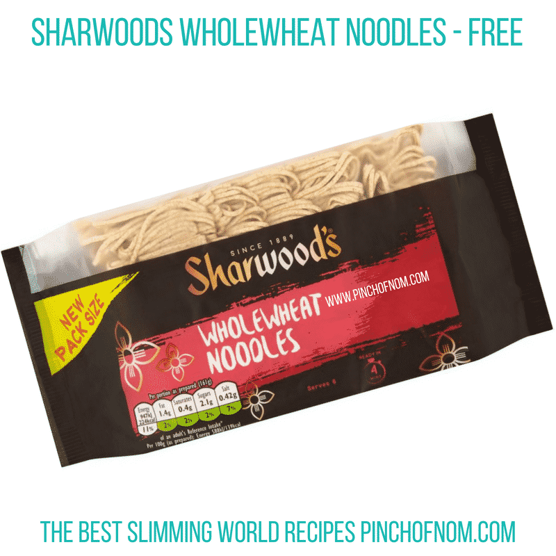 Sharwoods Wholewheat noodles - Pinch of Nom Slimming World Shopping Essentials