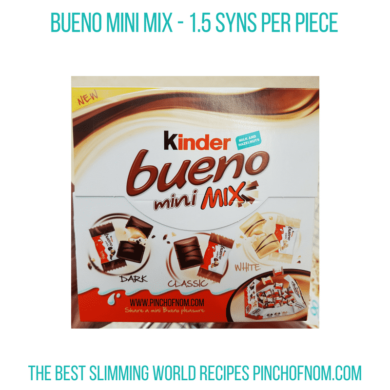 Kinder Bueno Mini - Pinch of Nom Slimming World Shopping Essentials