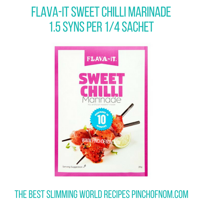 Flava-It Sweet chilli - Pinch of Nom Slimming World Shopping Essentials