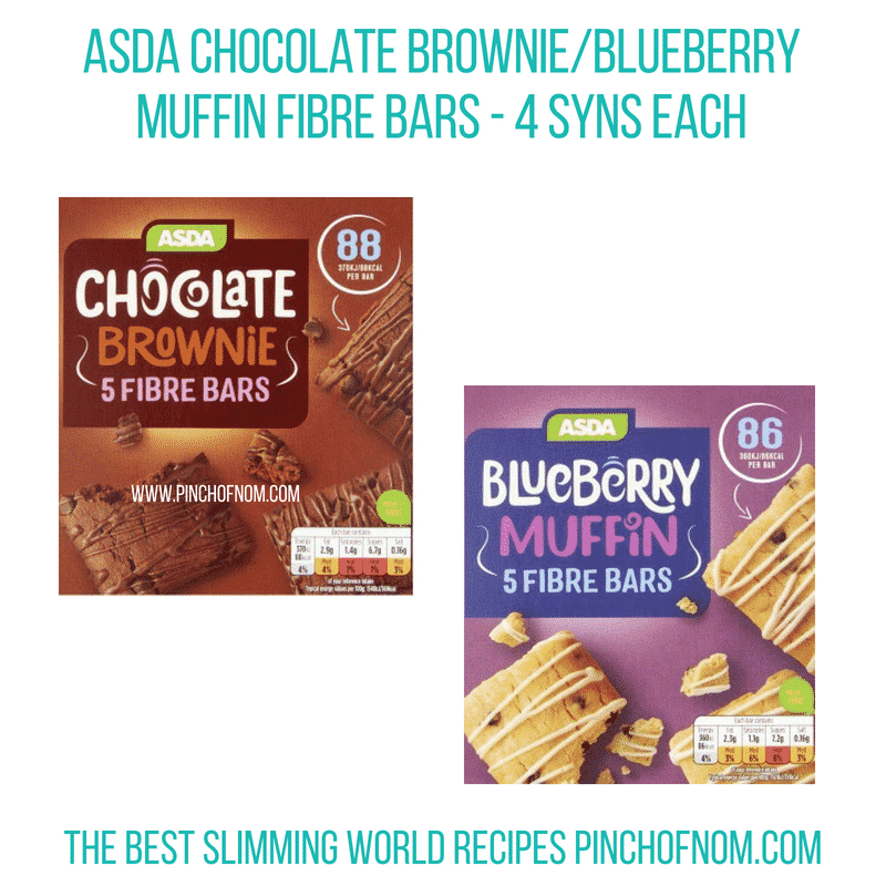 Asda Fibre Bars - Pinch of Nom Slimming World Shopping Essentials