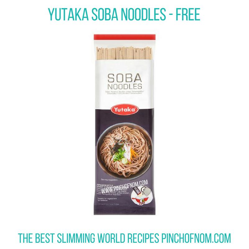 Yukata Soba Noodles - Pinch of Nom Slimming World Shopping Essentials