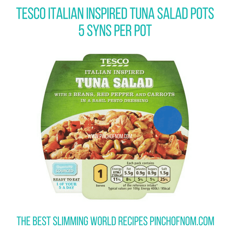 Tesco Tuna Pots - Pinch of Nom Slimming World Shopping Essentials