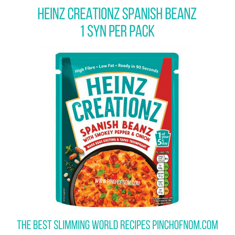 Heinz Creationz - Pinch of Nom Slimming World Shopping Essentials
