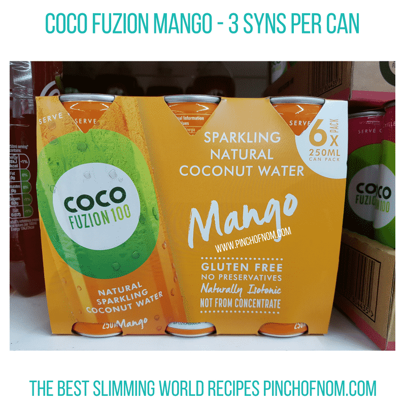 Coco Fuzion - Pinch of Nom Slimming World Shopping Essentials