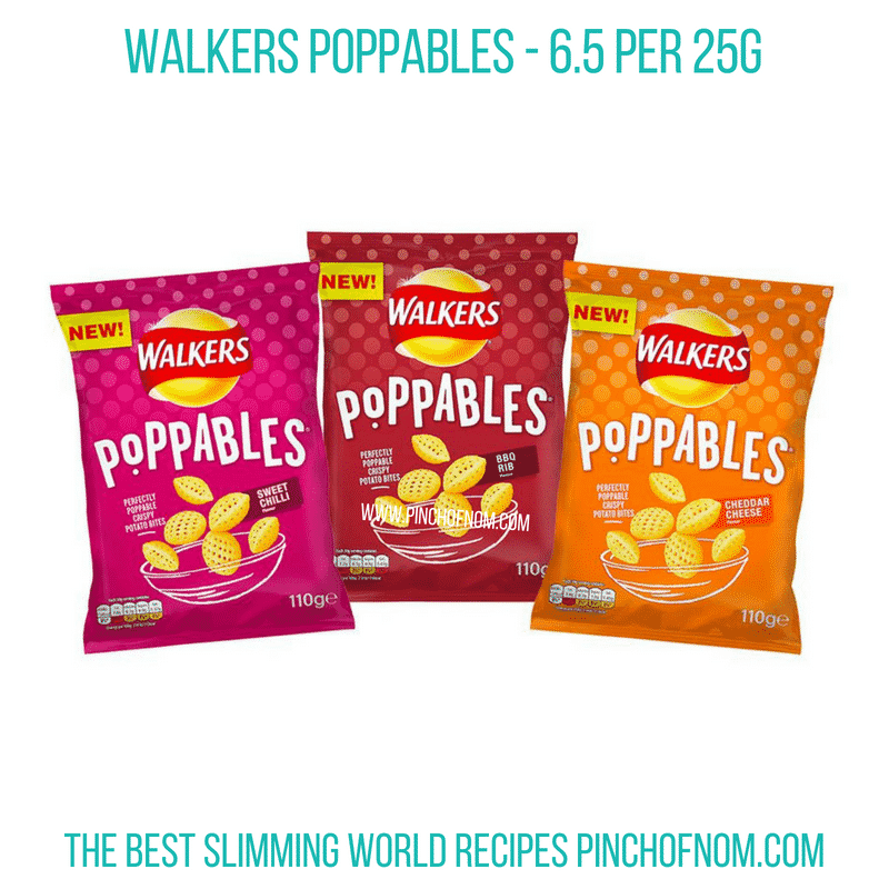 Walkers Poppables - Pinch of Nom Slimming World Shopping Essentials