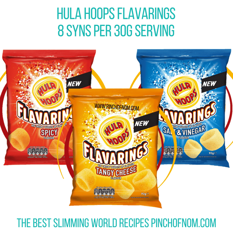 Hula Hoop Flavarings - Pinch of Nom Slimming World Shopping Essentials