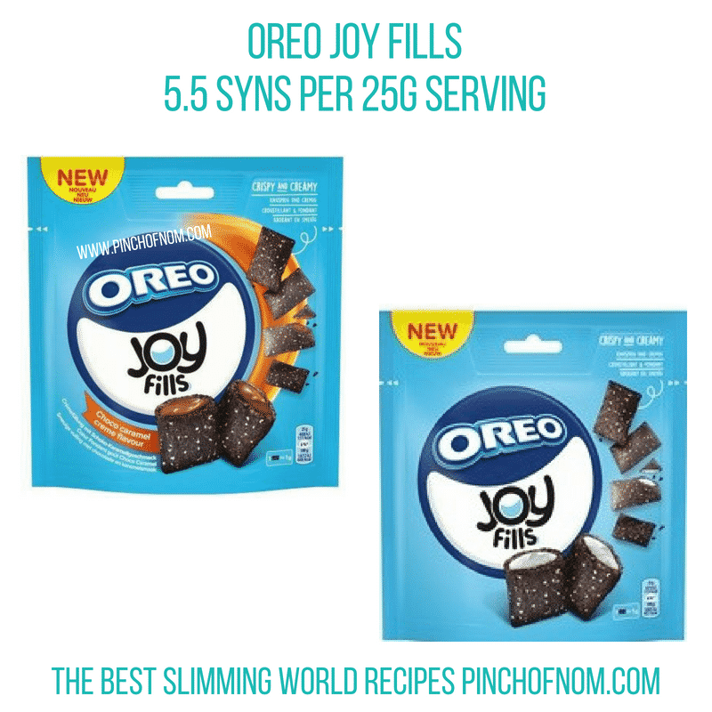 Oreo Joy Fills - Pinch of Nom Slimming World Shopping Essentials