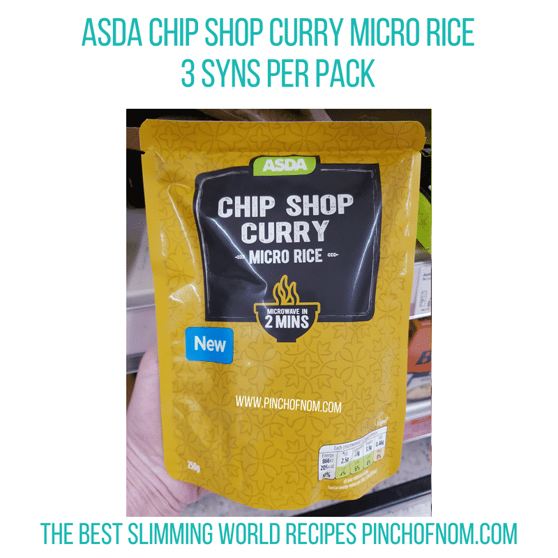 Asda Micro Rice - Pinch of Nom Slimming World Shopping Essentials