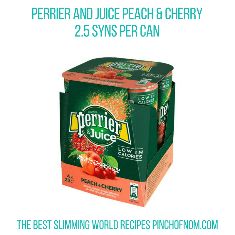 Perrier & Juice - Pinch of Nom Slimming World Shopping Essentials