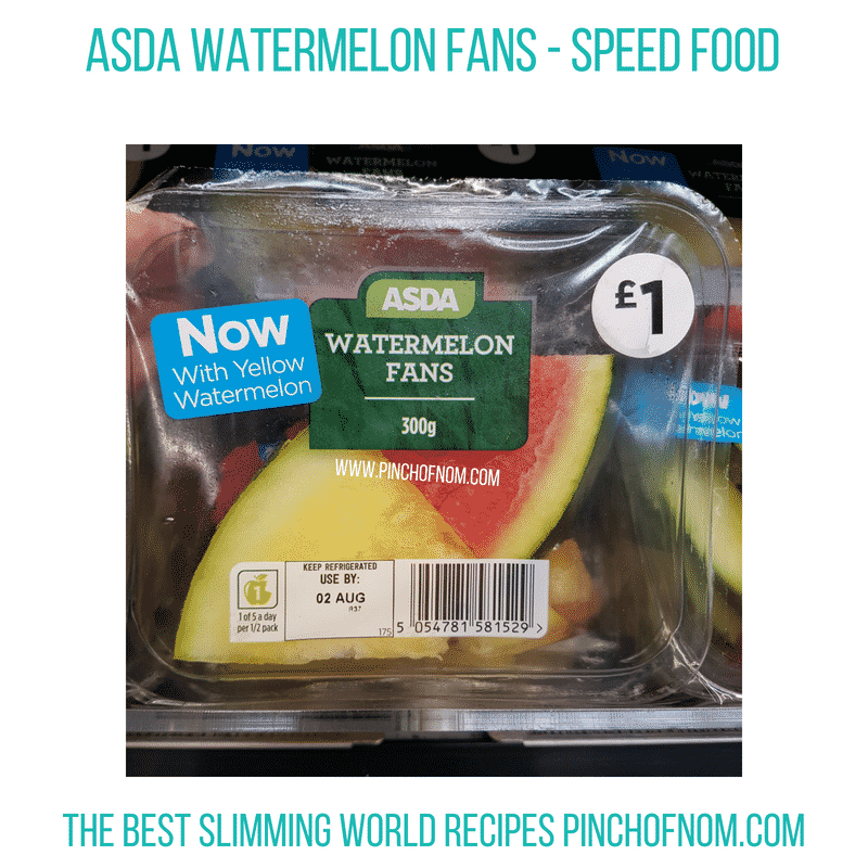Asda watermelon - Pinch of Nom Slimming World Shopping Essentials