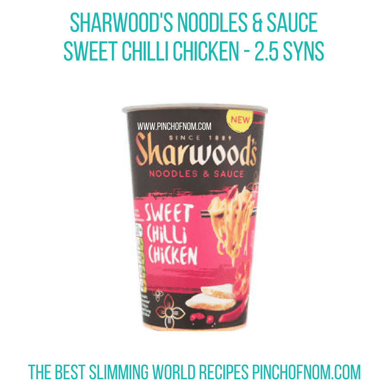 Sharwoods Noodles & Sauce - Pinch of Nom Slimming World Shopping Essentials
