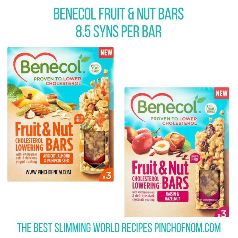 Benecol Fruit & Nut - Pinch of Nom Slimming World Shopping Essentials