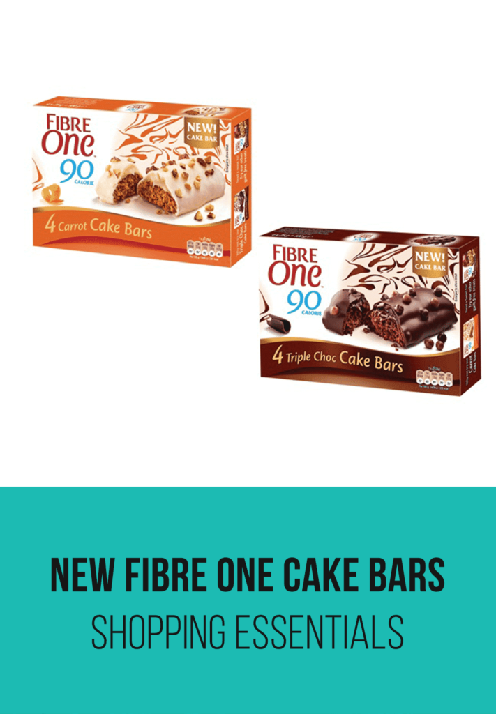 New Fibre One Cake Bars | Slimming World