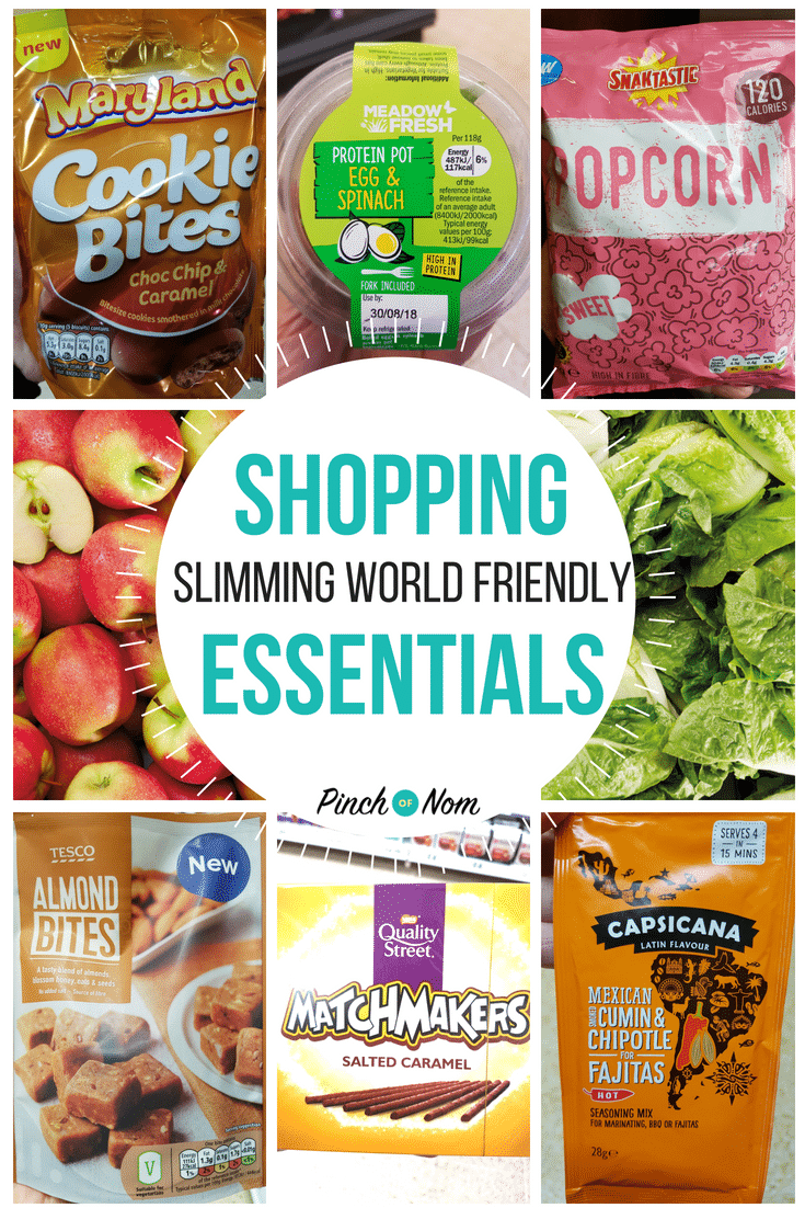 Slimming World Shopping Essentials first image 31.8.18
