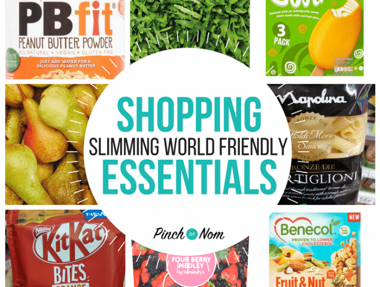 New Slimming World Shopping Essentials 17.8.18