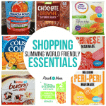 New Slimming World Shopping Essentials 24.8.18
