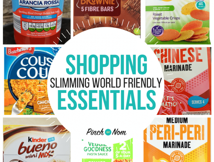 New Slimming World Shopping Essentials 24.8.18