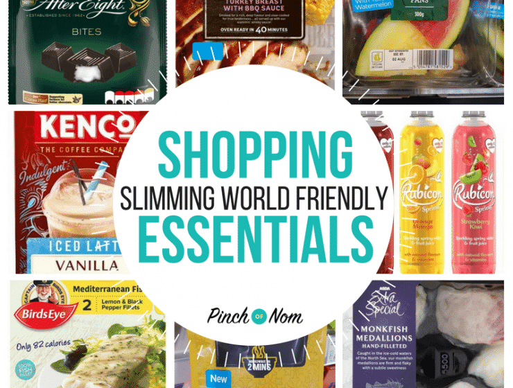 New Slimming World Shopping Essentials 3.8.18