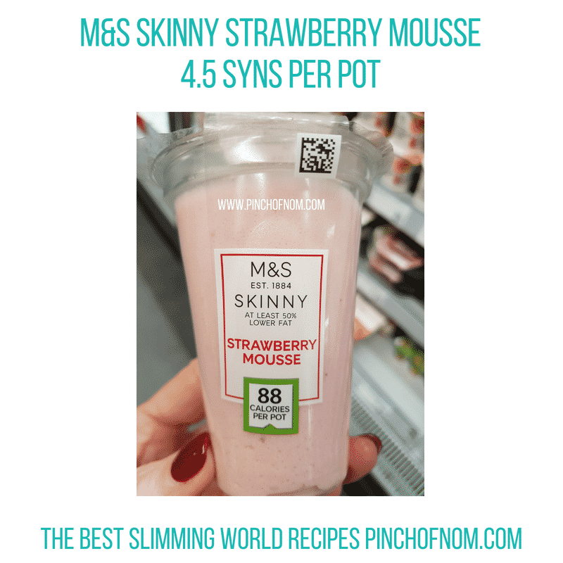 M&S Skinny Mousse - Pinch of Nom Slimming World Shopping Essentials