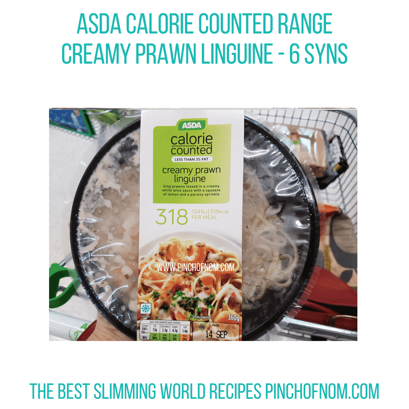 Asda Calorie Counted - Pinch of Nom Slimming World Shopping Essentials