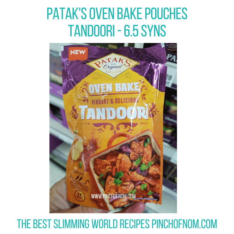 Patak's Oven Bake - Pinch of Nom Slimming World Shopping Essentials