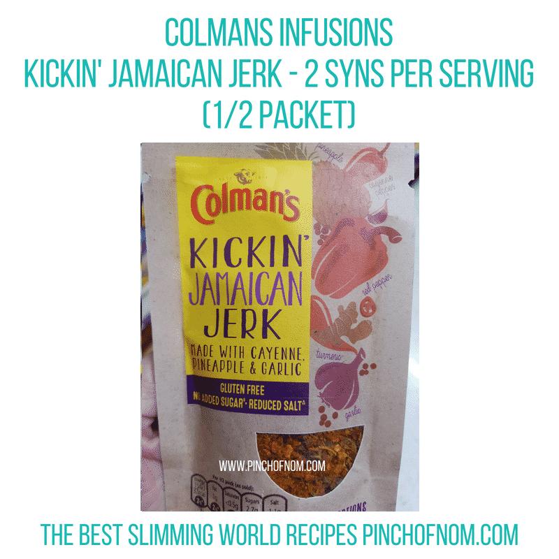Colmans sachets - Pinch of Nom Slimming World Shopping Essentials
