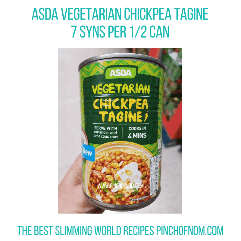 Asda Veg tagine - Pinch of Nom Slimming World Shopping Essentials