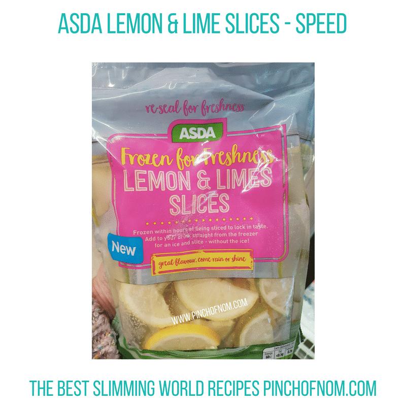 Asda Lemons Limes - Pinch of Nom Slimming World Shopping Essentials