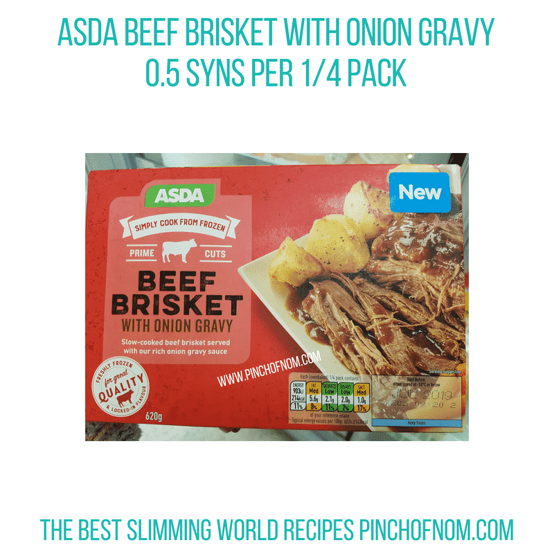 Asda Beef Brisket - Pinch of Nom Slimming World Shopping Essentials