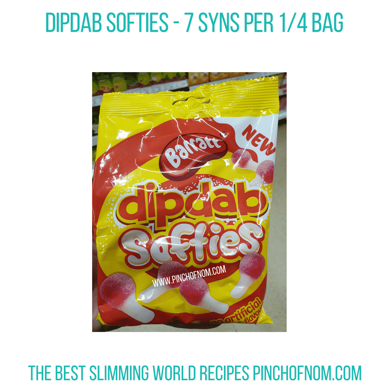 DipDab Softies - Pinch of Nom Slimming World Shopping Essentials