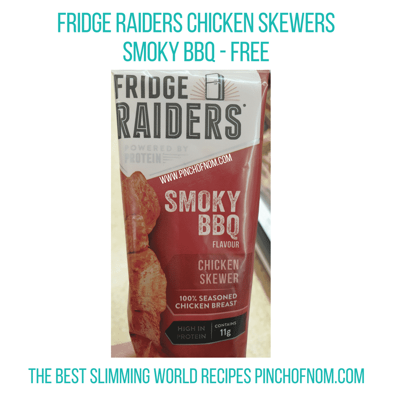 Fridge Raiders Skewers - Pinch of Nom Slimming World Shopping Essentials