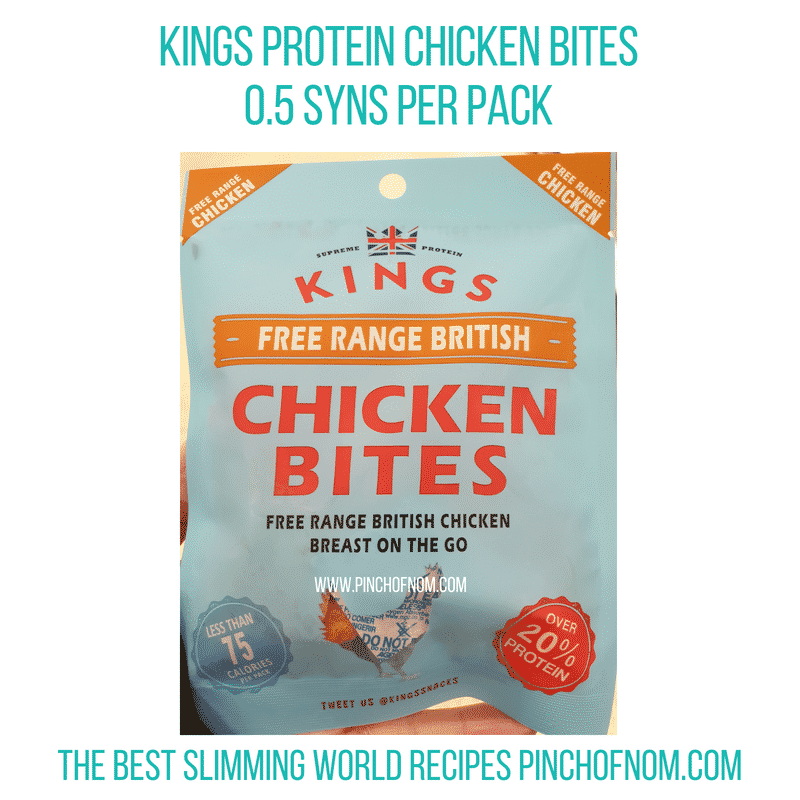 Kings Protein Bites - Pinch of Nom Slimming World Shopping Essentials