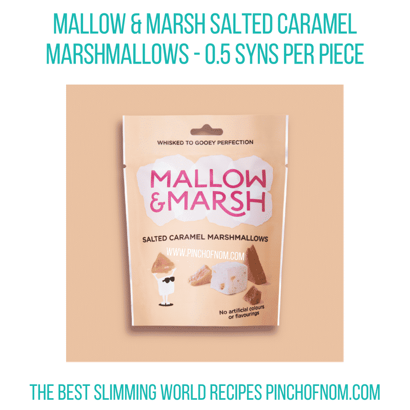 Mallow&Marsh Salted Caramel Pinch of Nom Slimming World Shopping Essentials