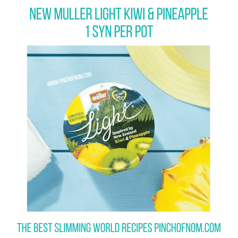 Muller Light Kiwi & Pineapple - Pinch of Nom Slimming World Shopping Essentials