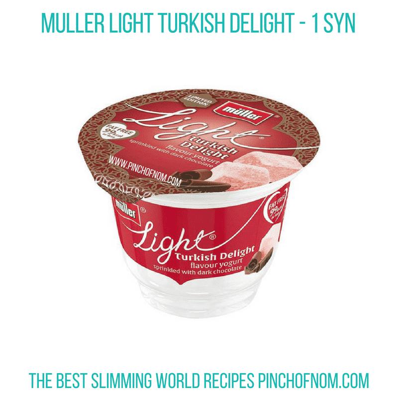 Muller turkish - Pinch of Nom Slimming World Shopping Essentials
