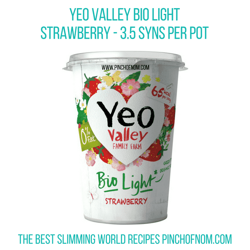 Yeo Valley Bio light - Pinch of Nom Slimming World Shopping Essentials