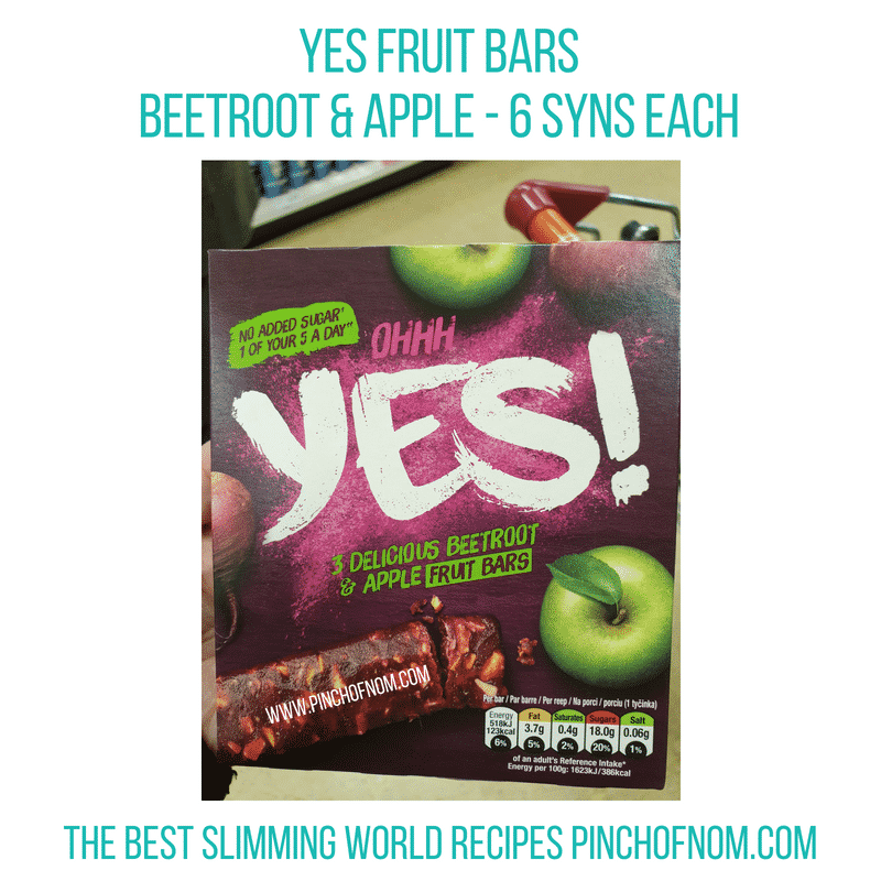 Yes Beetroot & Apple - Pinch of Nom Slimming World Shopping Essentials