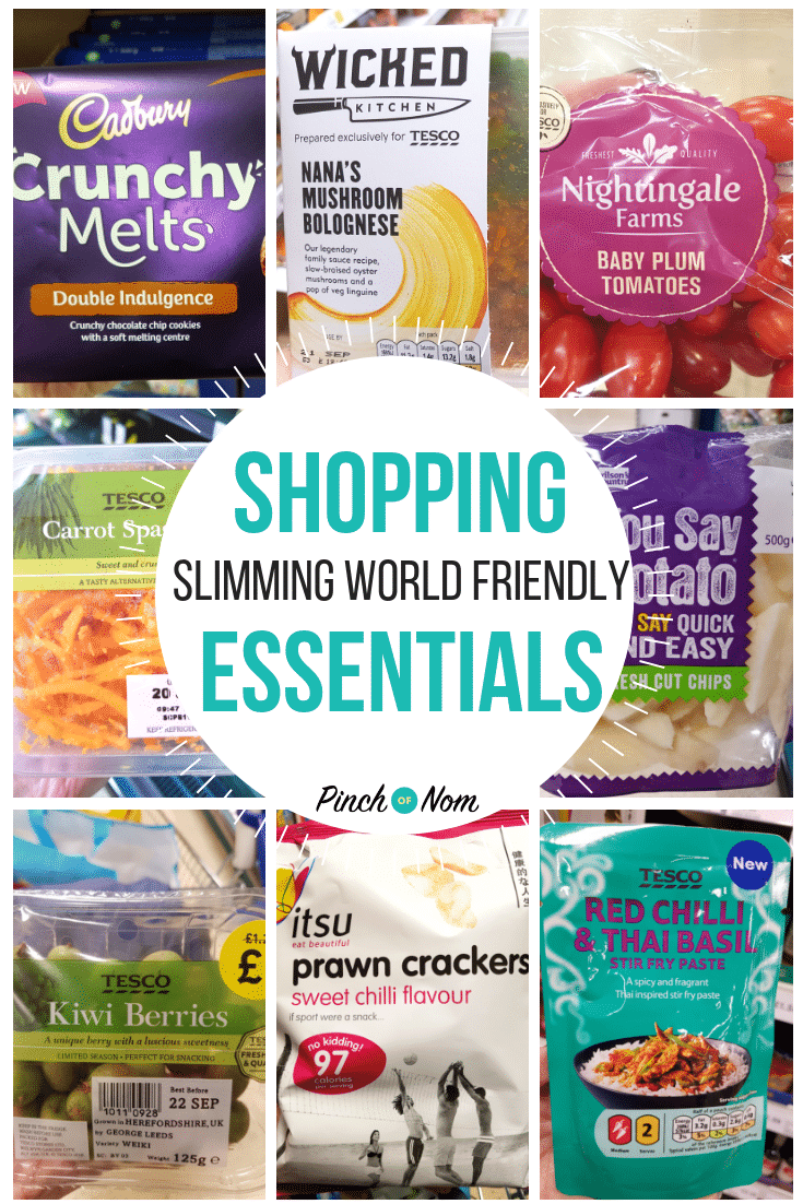First image 21.9.18 - Pinch of Nom Slimming World Shopping Essentials