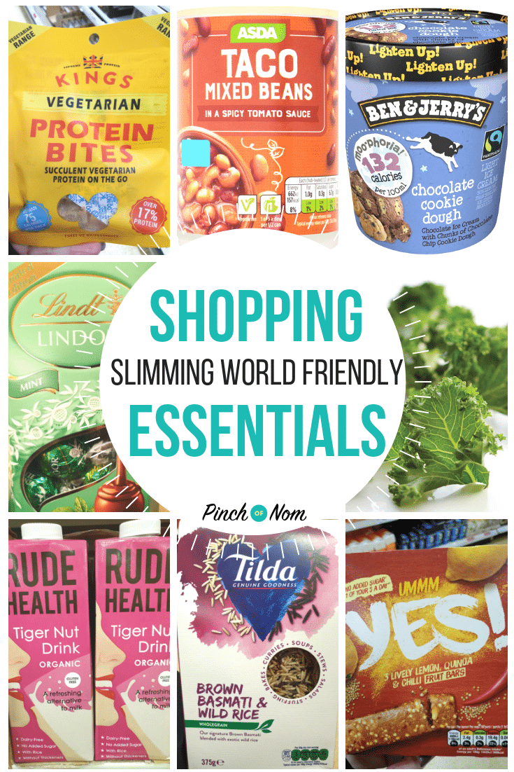 shopping first image 28.9.18 - Pinch of Nom Slimming World Shopping Essentials
