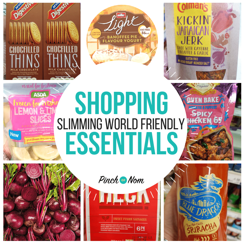 New Slimming World Shopping Essentials 14.9.18