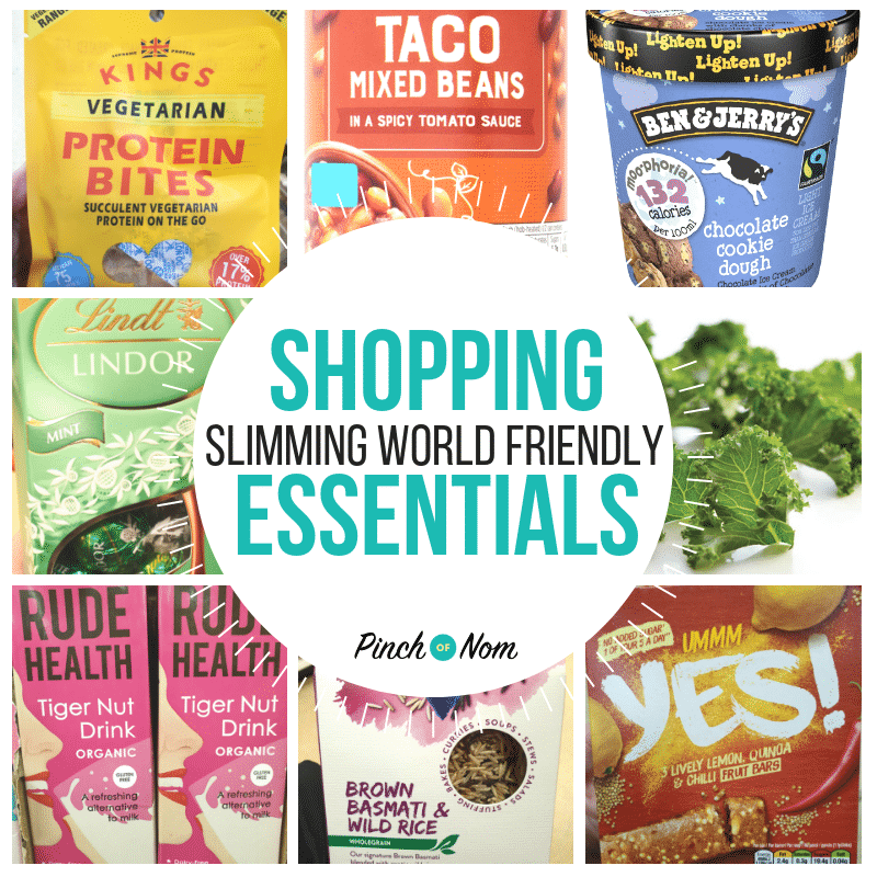 Shopping 28.9.18 featured - Pinch of Nom Slimming World Shopping Essentials