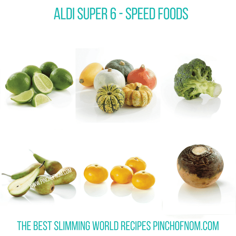 Aldi Super 6 12-10-18 - Pinch of Nom Slimming World Shopping Essentials