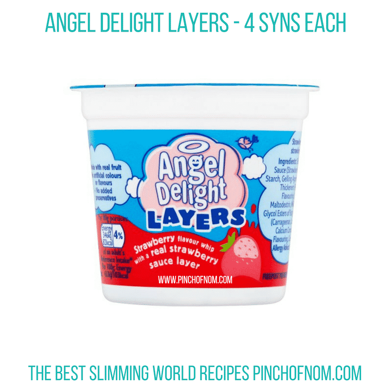 Angel Delight Layers - Pinch of Nom Slimming World Shopping Essentials