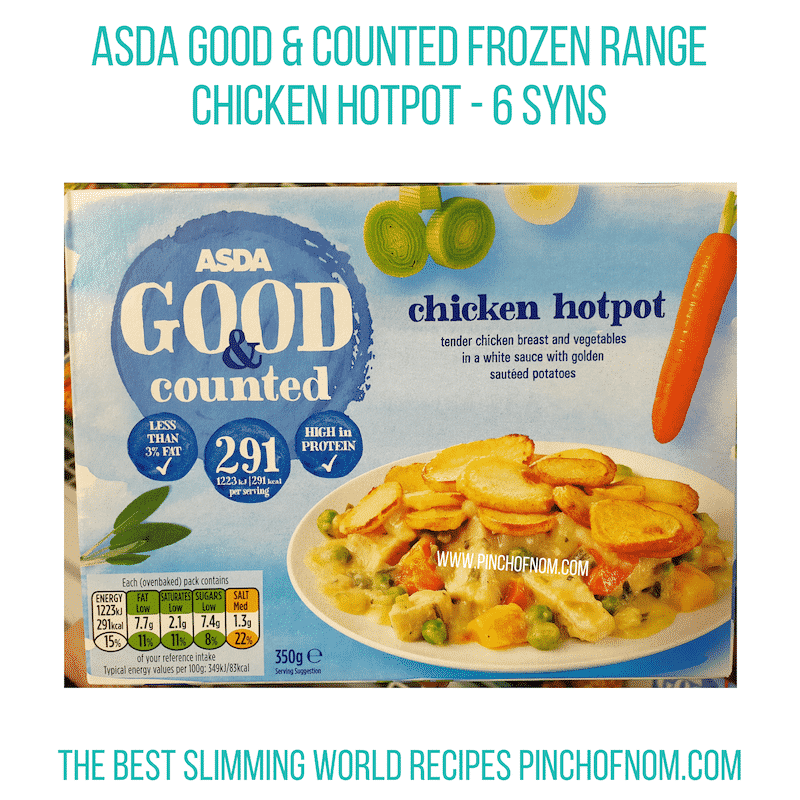 Asda Chicken HotPot - Pinch of Nom Slimming World Shopping Essentials