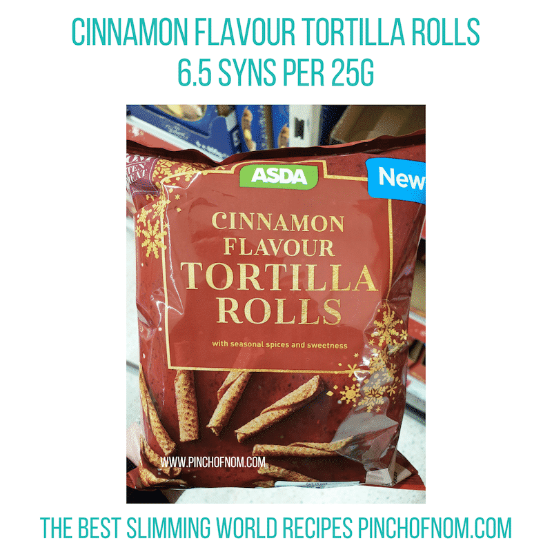 Asda Tortilla Rolls - Pinch of Nom Slimming World Shopping Essentials
