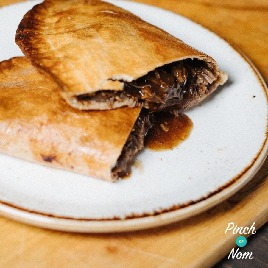 Beef & Onion Pasties | Slimming World & Weight Watchers Friendly